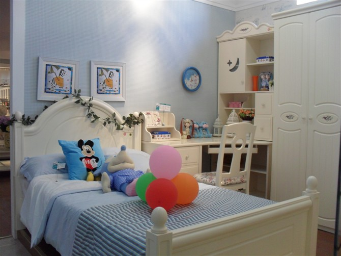 儿童卧房三件套2 - 家具